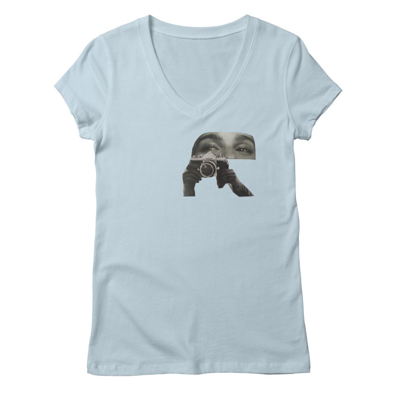 Glimpse Women's V-Neck by looks by primcess