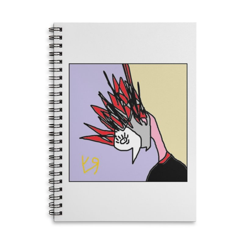"""""""Chaotic Neutral"""" by Richard F. Yates Accessories Notebook by The Primitive Entertainment Workshop!"""