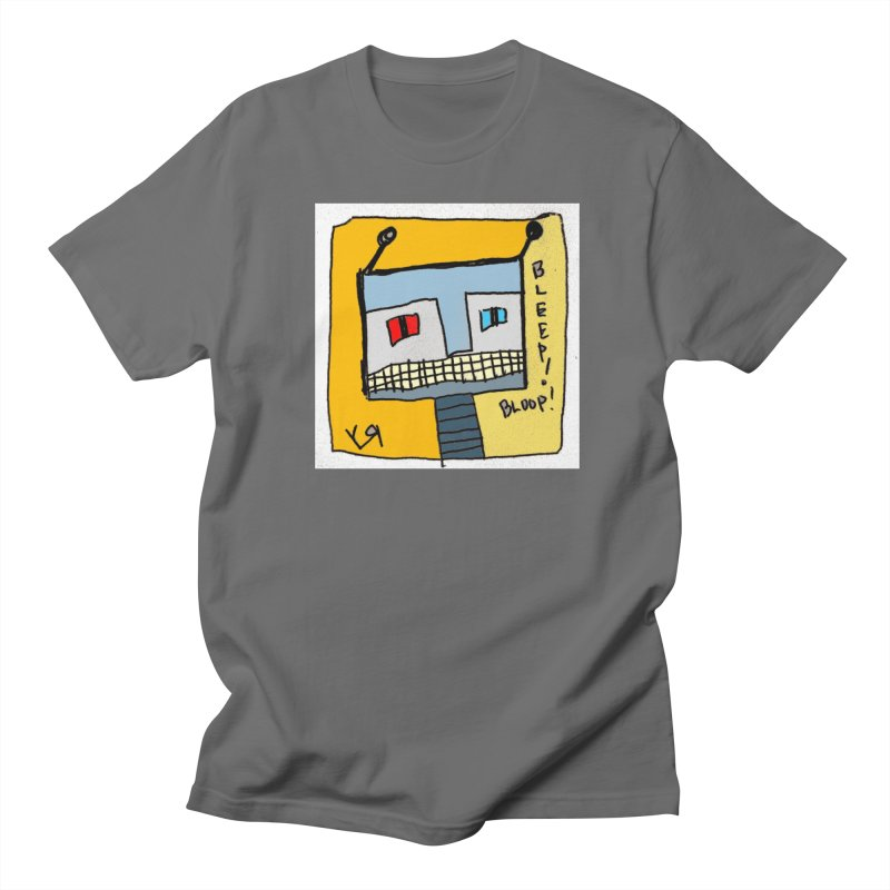 """Bleep! Bloop!"" by Richard F. Yates Men's T-Shirt by The Primitive Entertainment Workshop!"