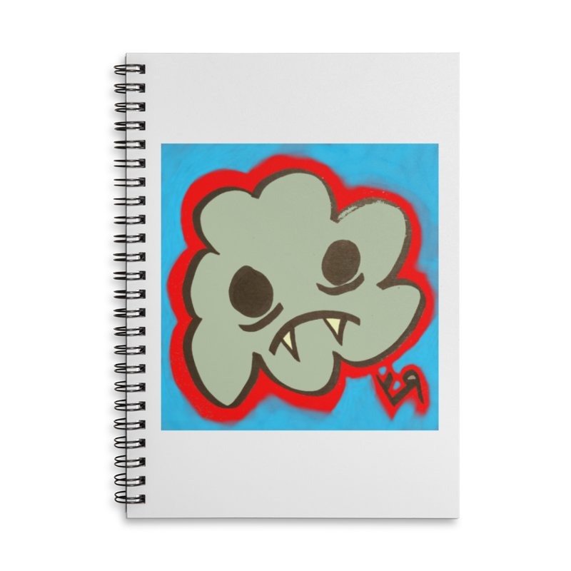 """""""Vampire Cloud"""" by Richard F. Yates Accessories Notebook by The Primitive Entertainment Workshop!"""