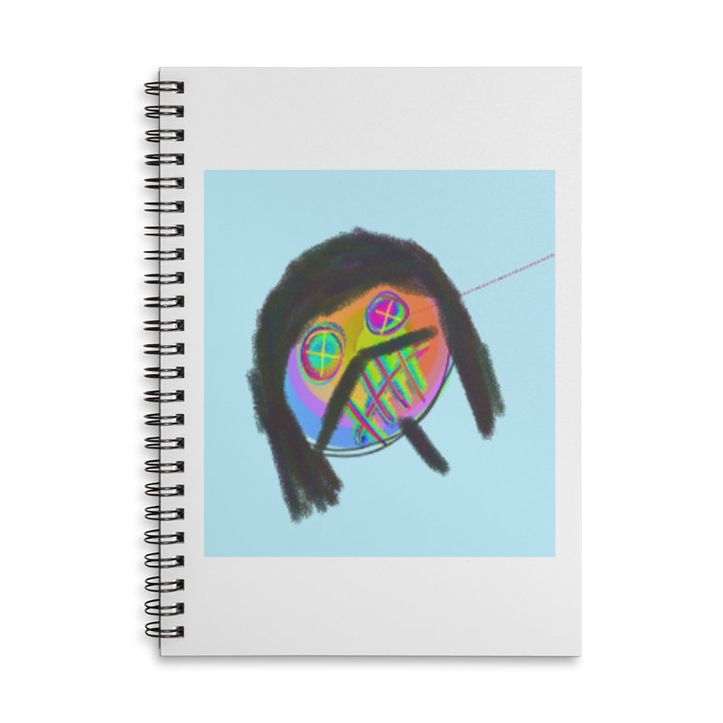 """""""Hippie Invasion"""" by Richard F. Yates Accessories Notebook by The Primitive Entertainment Workshop!"""