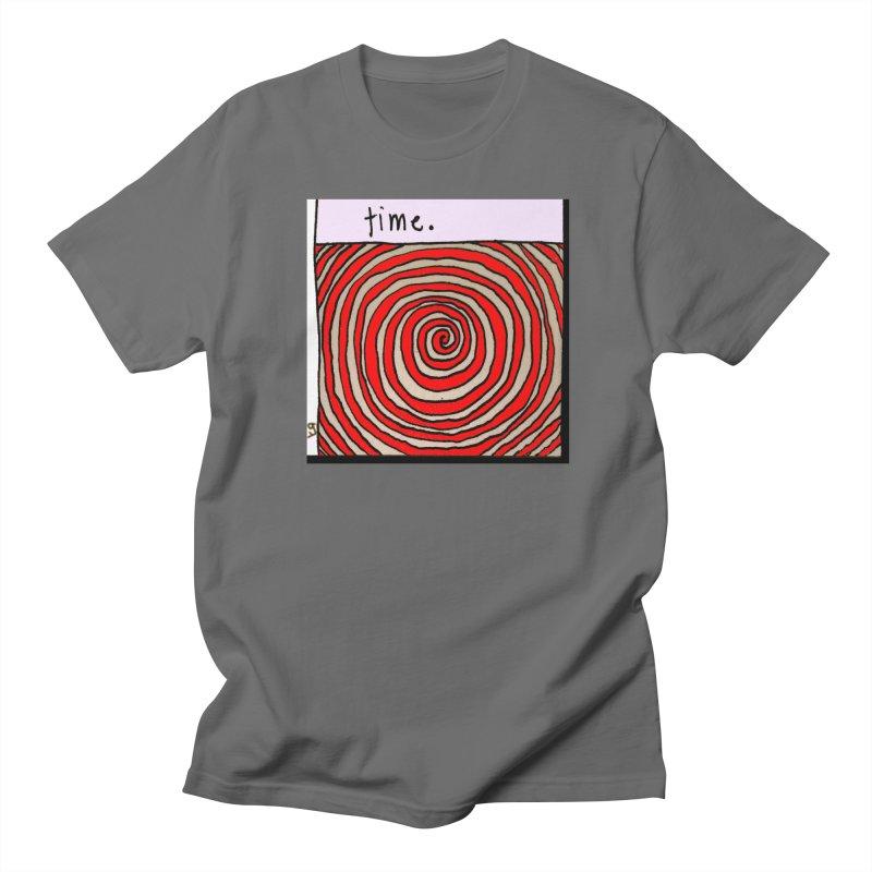 """time."" by Richard F. Yates Men's T-Shirt by The Primitive Entertainment Workshop!"