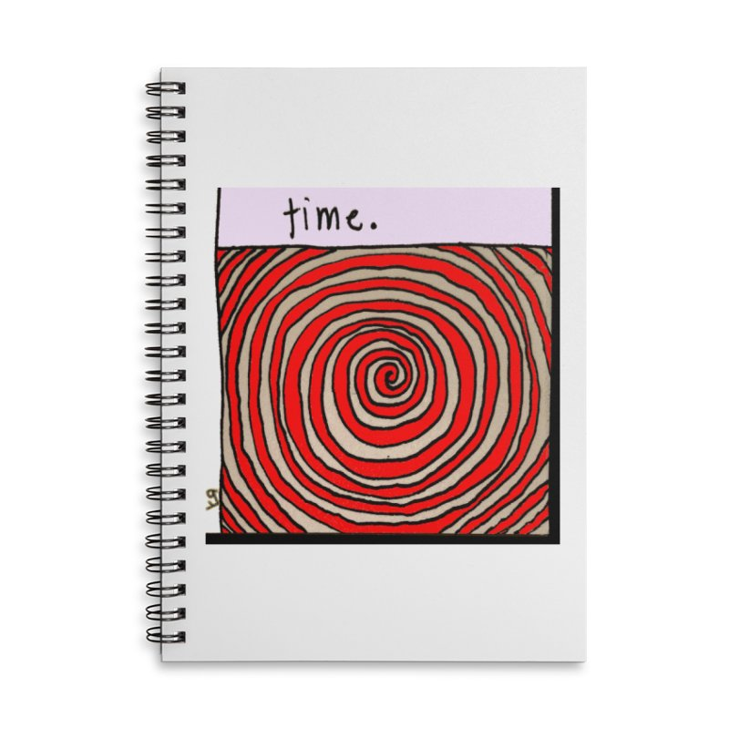 """""""time."""" by Richard F. Yates Accessories Notebook by The Primitive Entertainment Workshop!"""