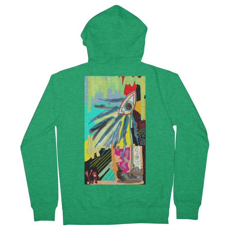 """""""Unnatural Selection"""" by Richard F. Yates Women's Zip-Up Hoody by The Primitive Entertainment Workshop!"""