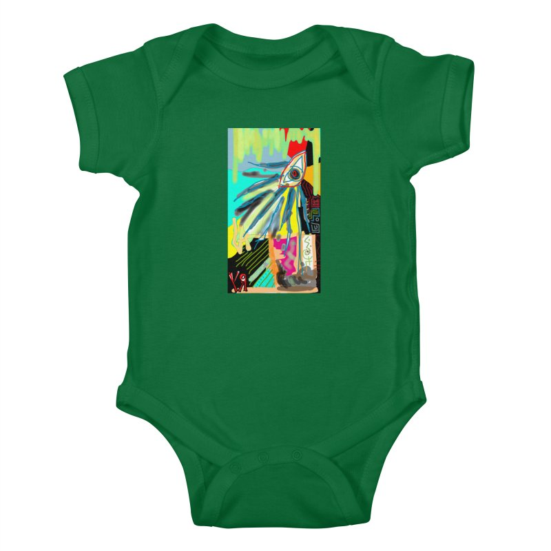 """Unnatural Selection"" by Richard F. Yates Kids Baby Bodysuit by The Primitive Entertainment Workshop!"