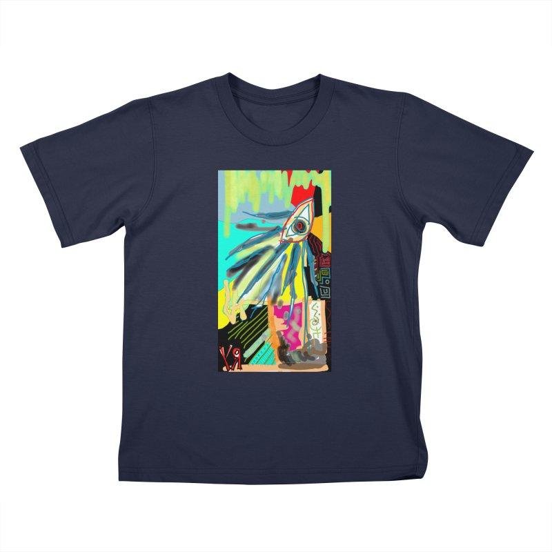"""Unnatural Selection"" by Richard F. Yates Kids T-Shirt by The Primitive Entertainment Workshop!"