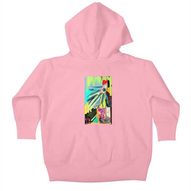 """""""Unnatural Selection"""" by Richard F. Yates Kids Baby Zip-Up Hoody by The Primitive Entertainment Workshop!"""