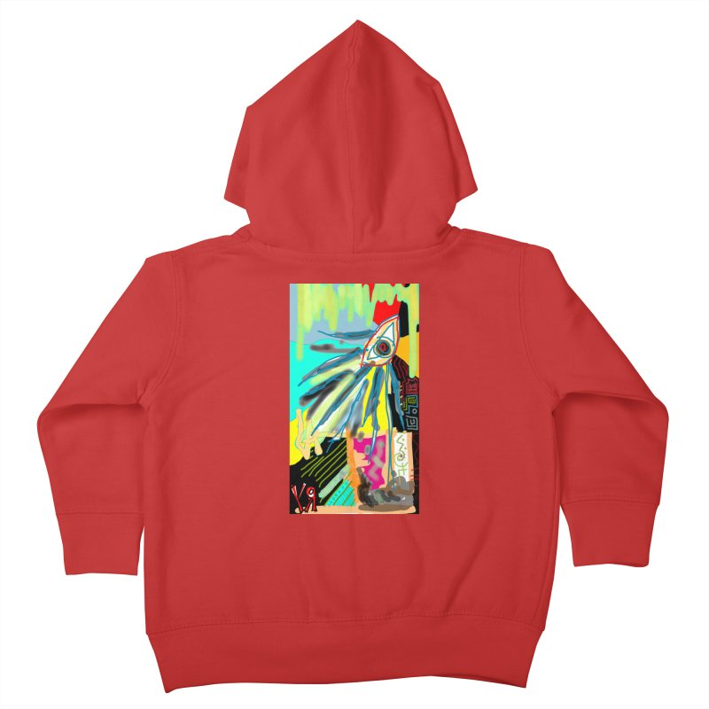 """""""Unnatural Selection"""" by Richard F. Yates Kids Toddler Zip-Up Hoody by The Primitive Entertainment Workshop!"""