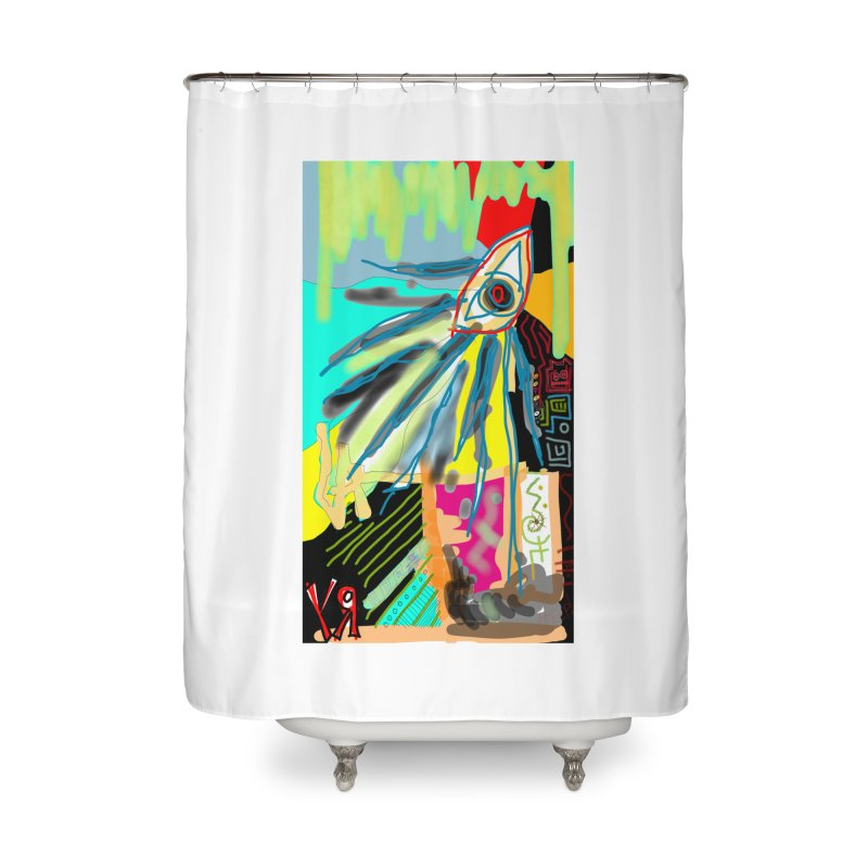 """""""Unnatural Selection"""" by Richard F. Yates Home Shower Curtain by The Primitive Entertainment Workshop!"""