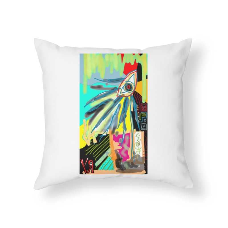 """""""Unnatural Selection"""" by Richard F. Yates Home Throw Pillow by The Primitive Entertainment Workshop!"""