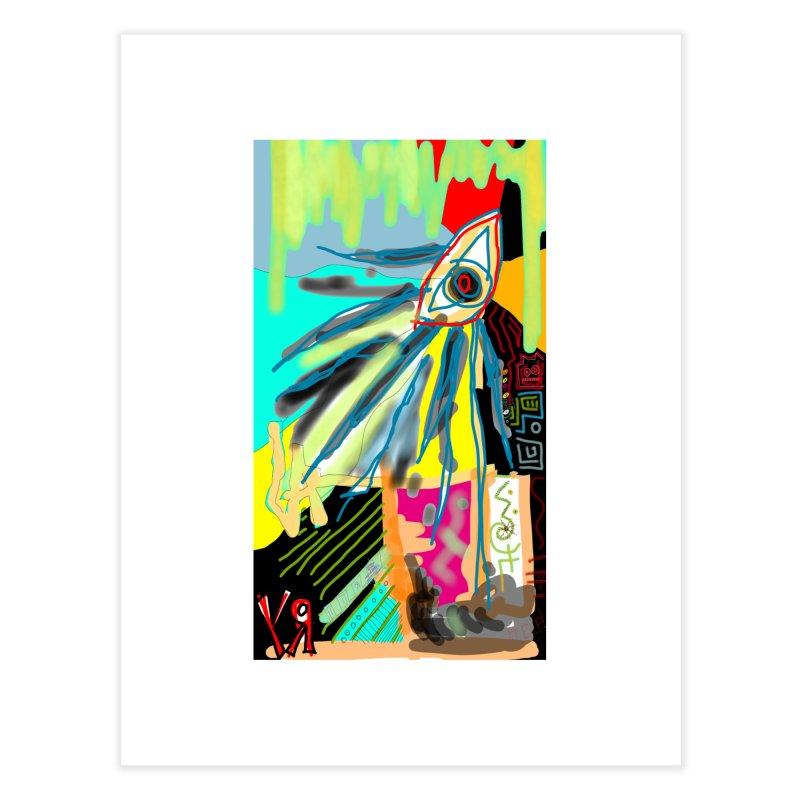 """Unnatural Selection"" by Richard F. Yates Home Fine Art Print by The Primitive Entertainment Workshop!"