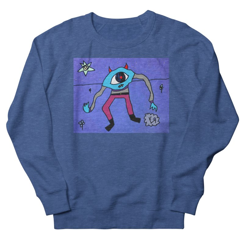 """Trepidatious Eyeball"" by Richard F. Yates Men's Sweatshirt by The Primitive Entertainment Workshop!"