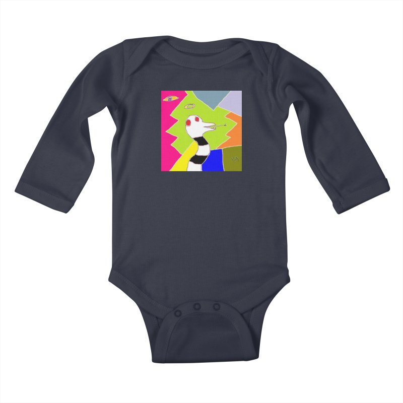 """St. Snakus Maximus"" by Richard F. Yates Kids Baby Longsleeve Bodysuit by The Primitive Entertainment Workshop!"