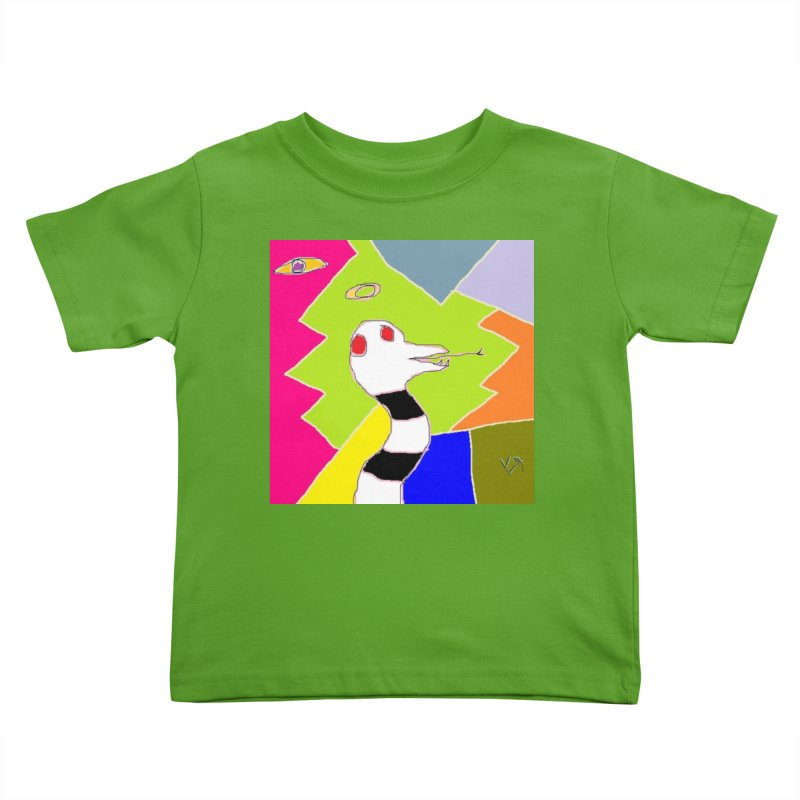 """St. Snakus Maximus"" by Richard F. Yates Kids Toddler T-Shirt by The Primitive Entertainment Workshop!"