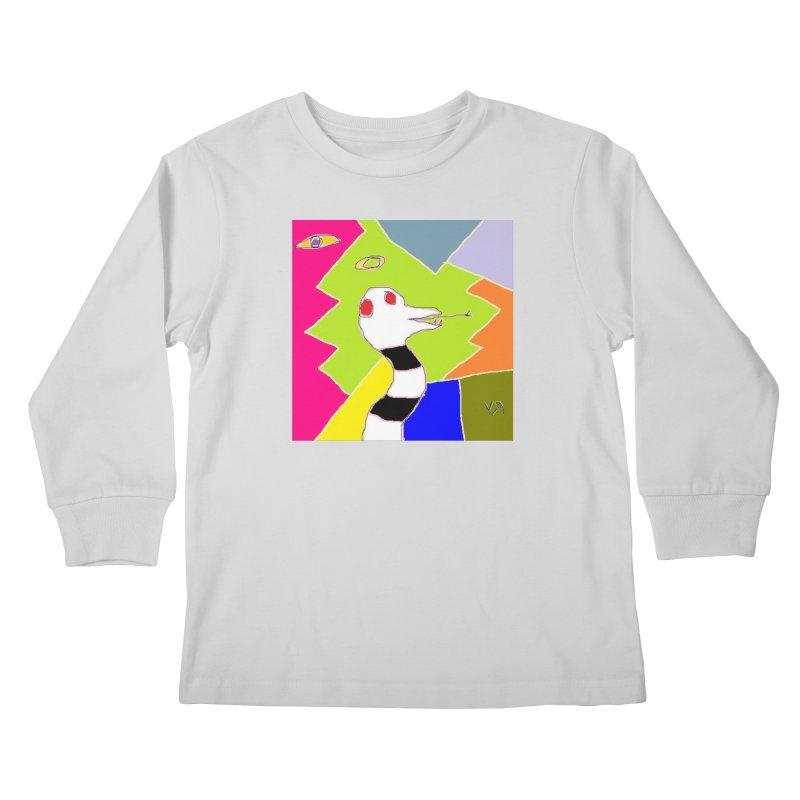 """St. Snakus Maximus"" by Richard F. Yates Kids Longsleeve T-Shirt by The Primitive Entertainment Workshop!"