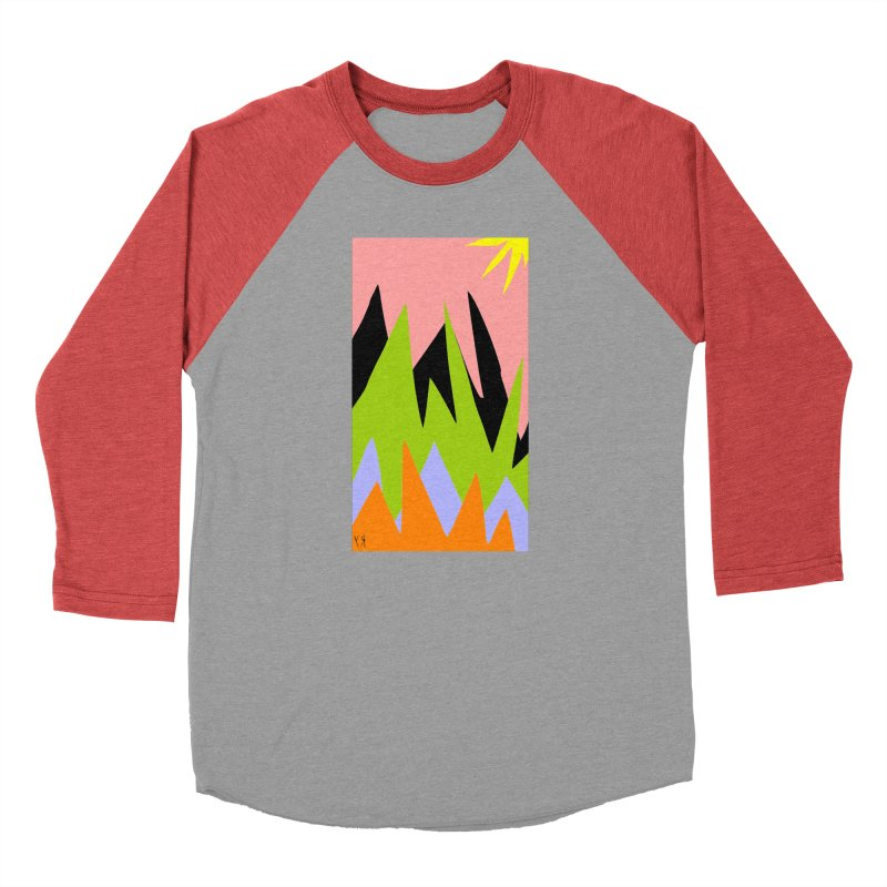 """Happy Death Mountains"" by Richard F. Yates Men's Longsleeve T-Shirt by The Primitive Entertainment Workshop!"