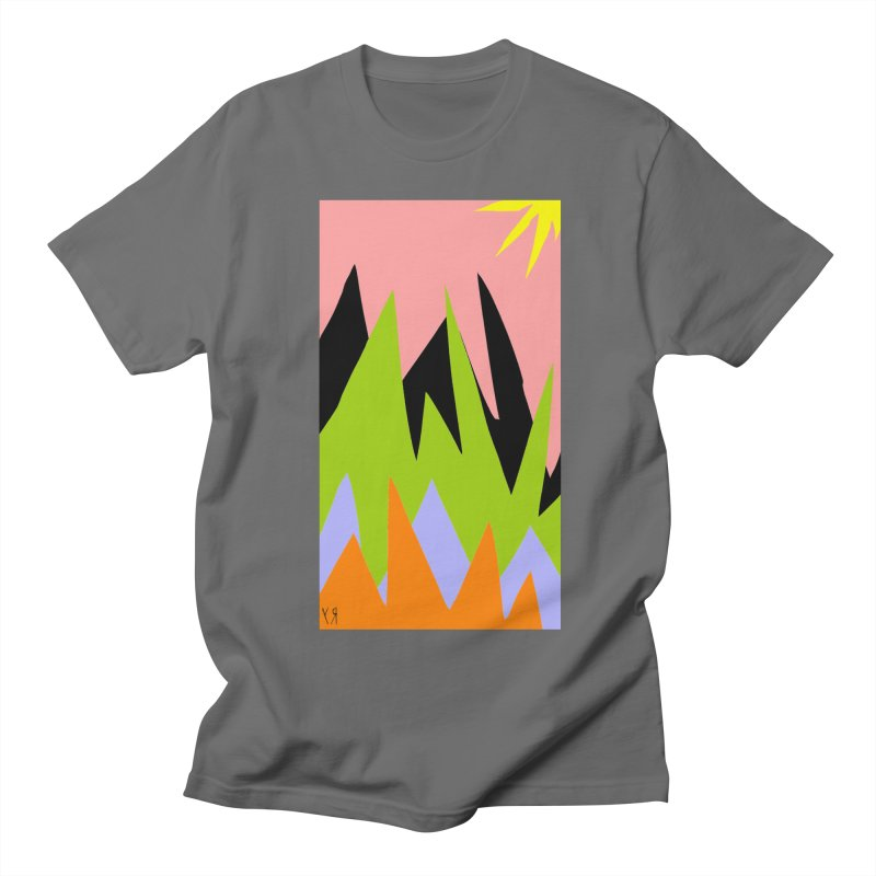"""Happy Death Mountains"" by Richard F. Yates Men's T-Shirt by The Primitive Entertainment Workshop!"