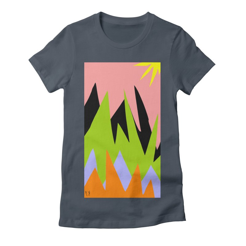 """Happy Death Mountains"" by Richard F. Yates Women's T-Shirt by The Primitive Entertainment Workshop!"