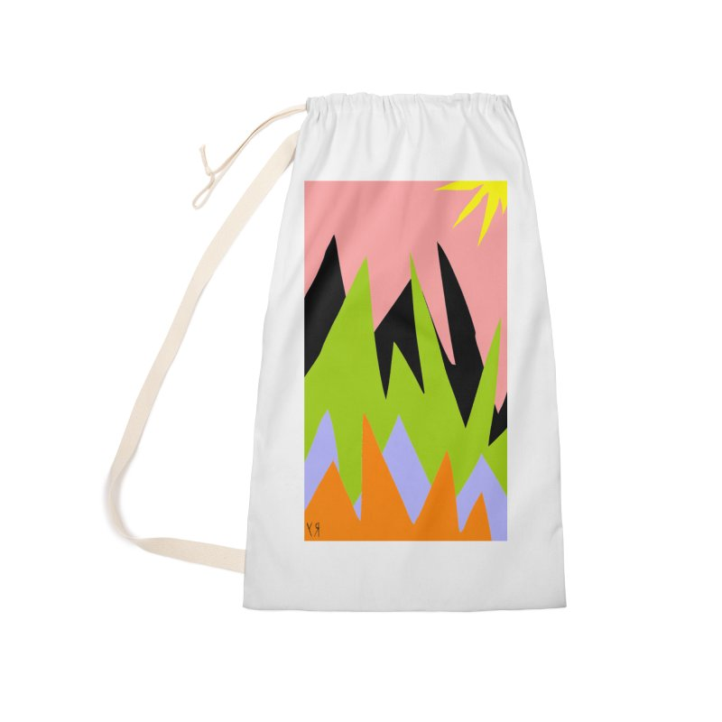 """""""Happy Death Mountains"""" by Richard F. Yates Accessories Bag by The Primitive Entertainment Workshop!"""