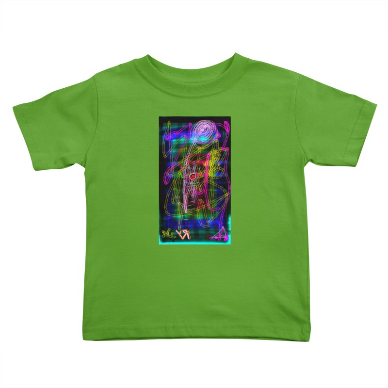 """My Robot's Broken (Your Necklace is Too Long)"" by Richard F. Yates Kids Toddler T-Shirt by The Primitive Entertainment Workshop!"