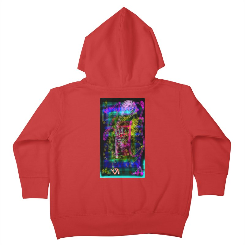 """""""My Robot's Broken (Your Necklace is Too Long)"""" by Richard F. Yates Kids Toddler Zip-Up Hoody by The Primitive Entertainment Workshop!"""