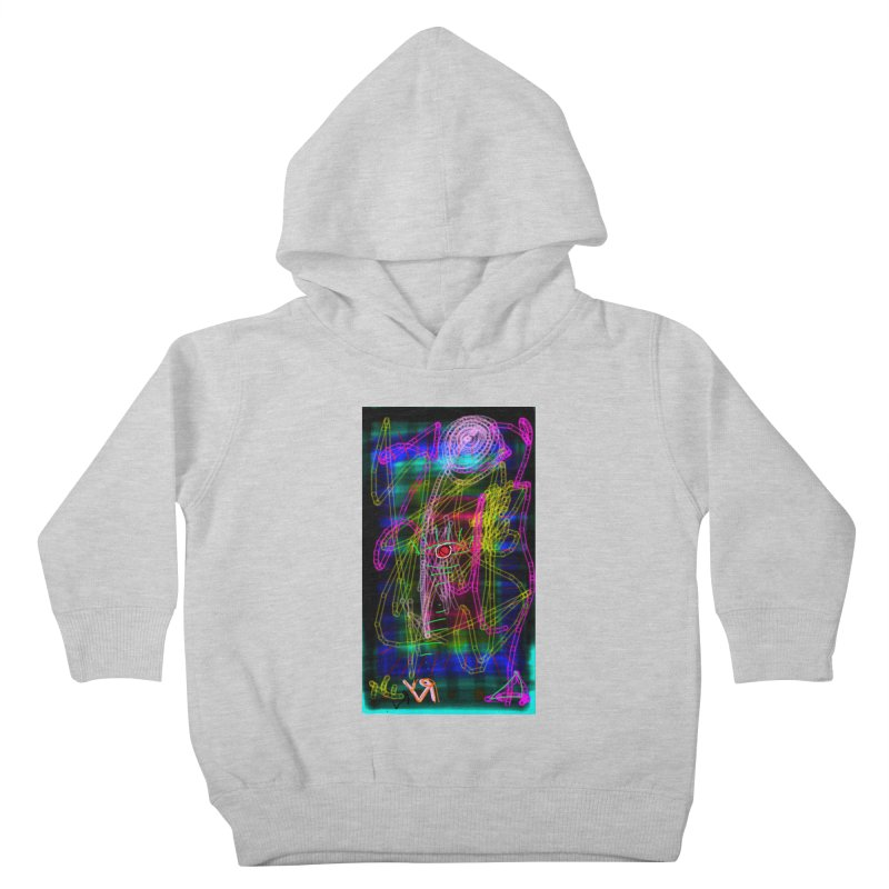 """""""My Robot's Broken (Your Necklace is Too Long)"""" by Richard F. Yates Kids Toddler Pullover Hoody by The Primitive Entertainment Workshop!"""