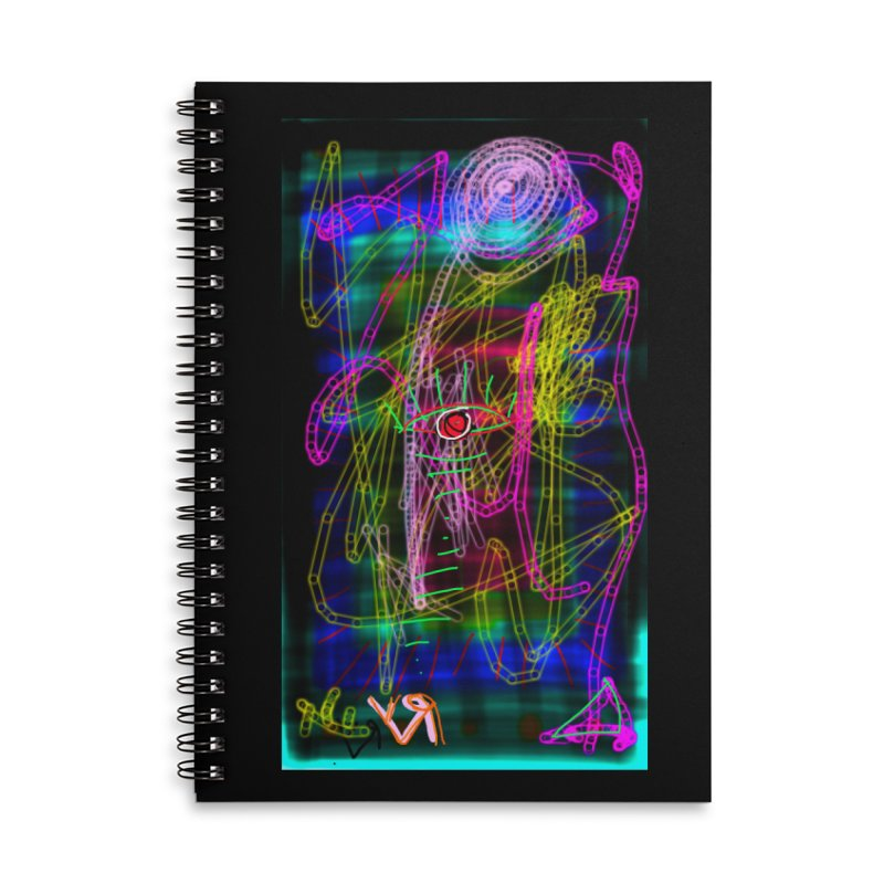"""My Robot's Broken (Your Necklace is Too Long)"" by Richard F. Yates Accessories Notebook by The Primitive Entertainment Workshop!"