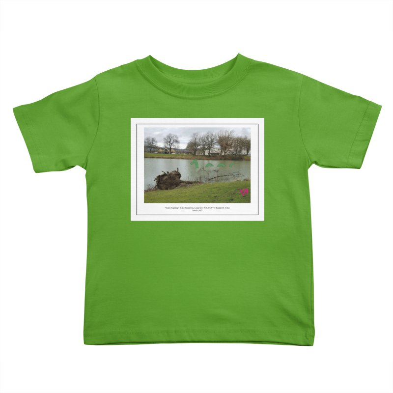 """""""Sacky Sighting (Fancy)"""" by Richard F. Yates Kids Toddler T-Shirt by The Primitive Entertainment Workshop!"""