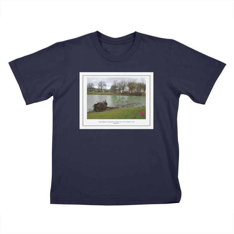 """""""Sacky Sighting (Fancy)"""" by Richard F. Yates Kids T-Shirt by The Primitive Entertainment Workshop!"""
