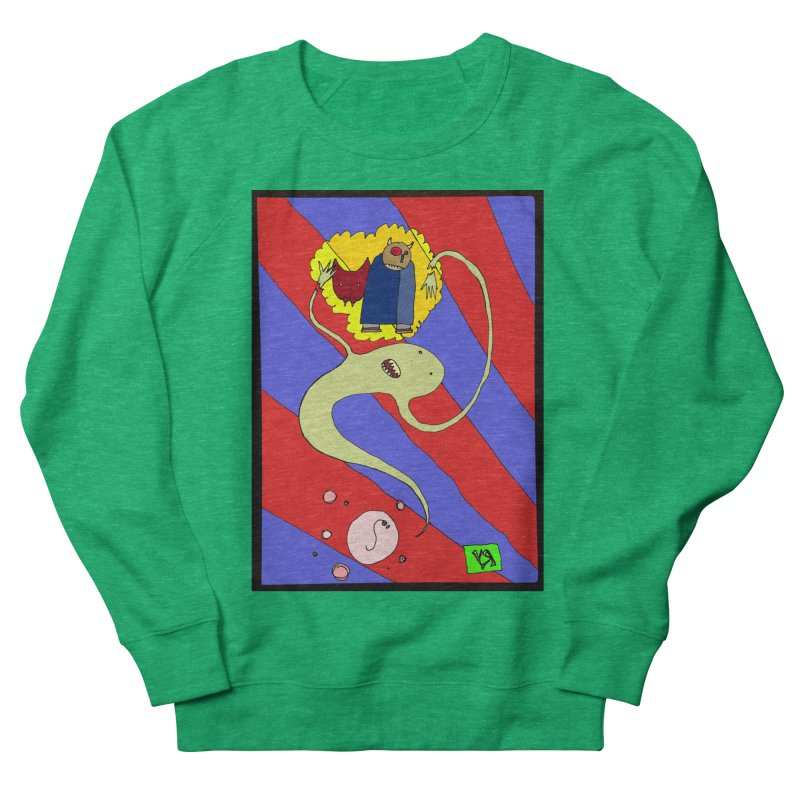 """""""The Dangers of Travel by Thought Bubble"""" by Richard F. Yates Women's Sweatshirt by The Primitive Entertainment Workshop!"""