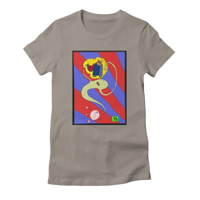 """""""The Dangers of Travel by Thought Bubble"""" by Richard F. Yates Women's T-Shirt by The Primitive Entertainment Workshop!"""