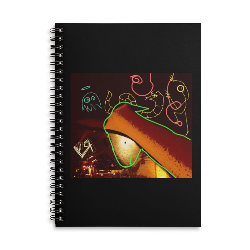 """His Imagination Got Loose!"" by Richard F. Yates Accessories Notebook by The Primitive Entertainment Workshop!"