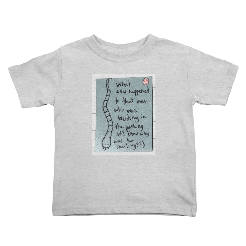 """The Plot Thickens"" by Richard F. Yates Kids Toddler T-Shirt by The Primitive Entertainment Workshop!"
