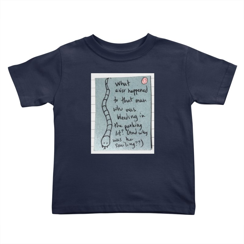 """""""The Plot Thickens"""" by Richard F. Yates Kids Toddler T-Shirt by The Primitive Entertainment Workshop!"""