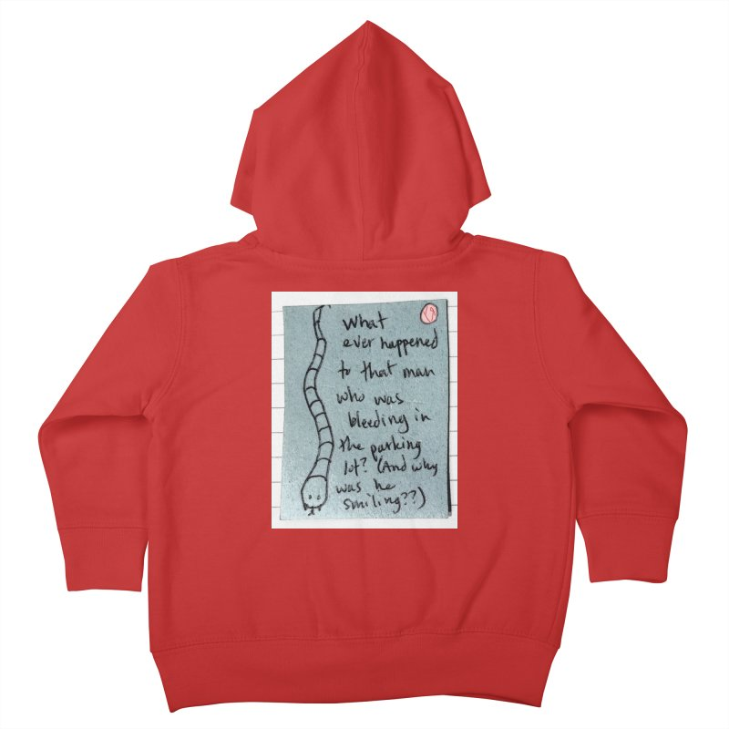 """""""The Plot Thickens"""" by Richard F. Yates Kids Toddler Zip-Up Hoody by The Primitive Entertainment Workshop!"""