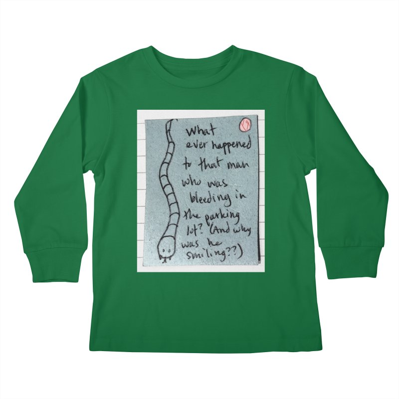 """""""The Plot Thickens"""" by Richard F. Yates Kids Longsleeve T-Shirt by The Primitive Entertainment Workshop!"""