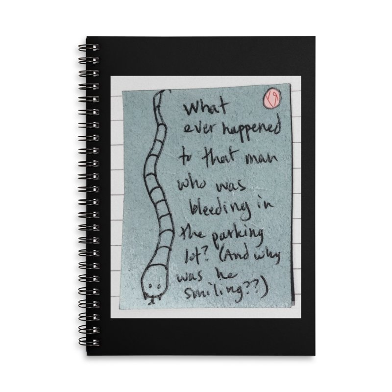 """""""The Plot Thickens"""" by Richard F. Yates Accessories Notebook by The Primitive Entertainment Workshop!"""