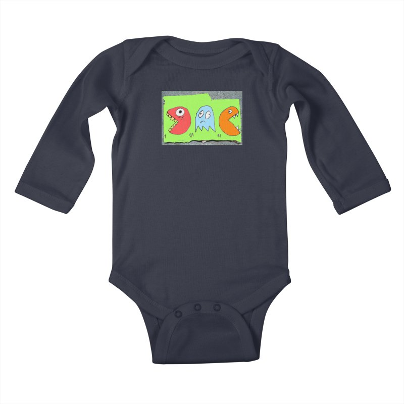 """""""The Chase (Part Two)"""" by Richard F. Yates Kids Baby Longsleeve Bodysuit by The Primitive Entertainment Workshop!"""