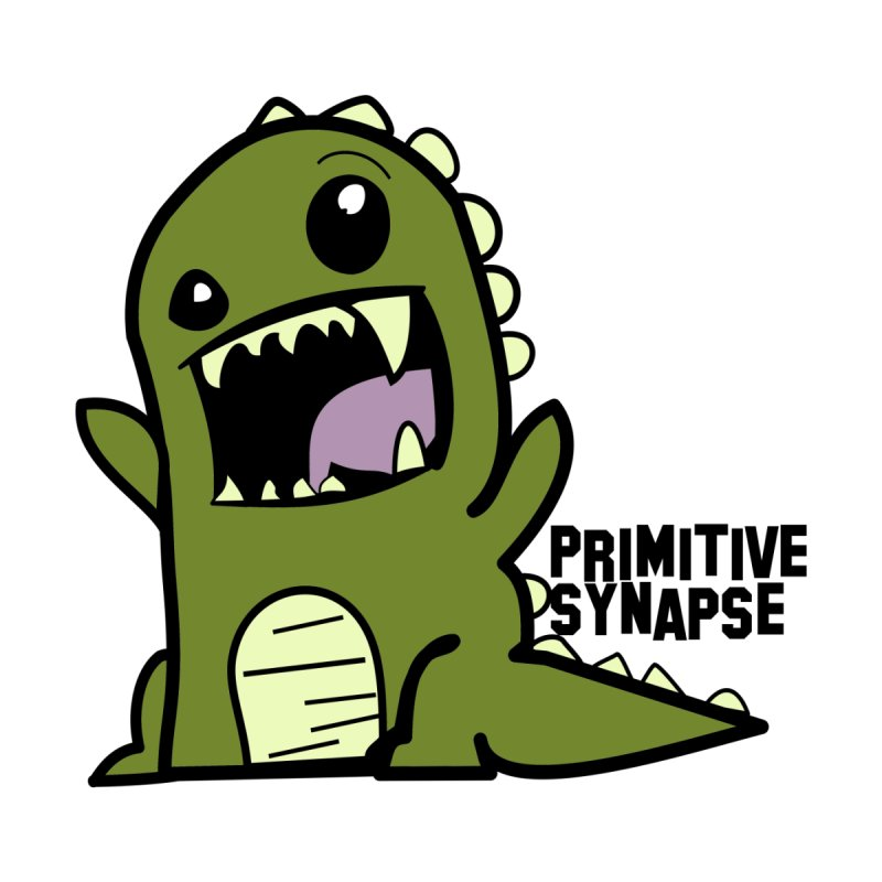Primitive Synapse Logo Men's T-Shirt by Primitive Synapse's Artist Shop
