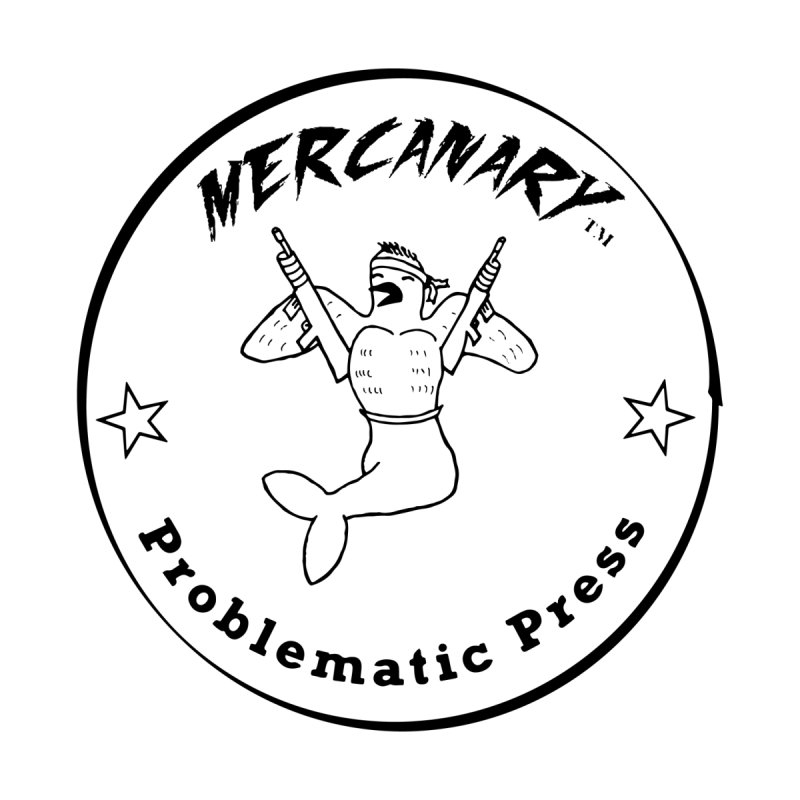 MERCANARY - LOGO Men's T-Shirt by Problematic Press - Operation: MERC(H)ANARY