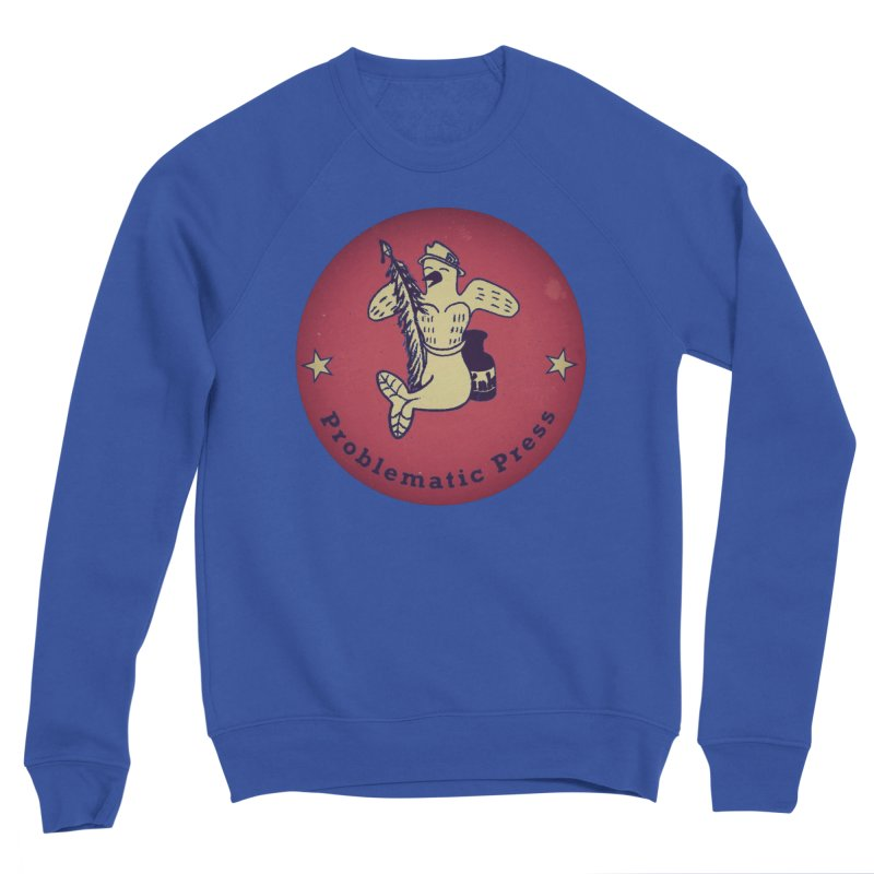PROBLEMATIC PRESS OFFICIAL LOGO Men's Sweatshirt by Problematic Press