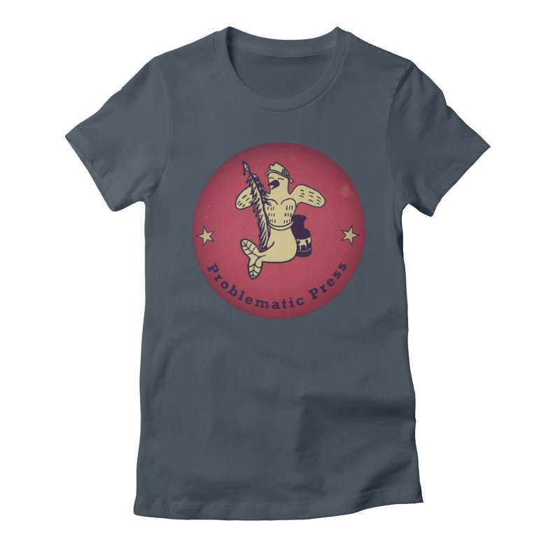 PROBLEMATIC PRESS OFFICIAL LOGO Women's T-Shirt by Problematic Press