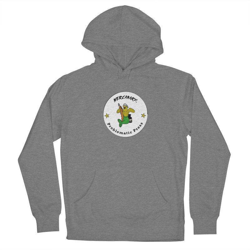 MERCANARY™ Logo with Canary Stars Women's Pullover Hoody by Problematic Press