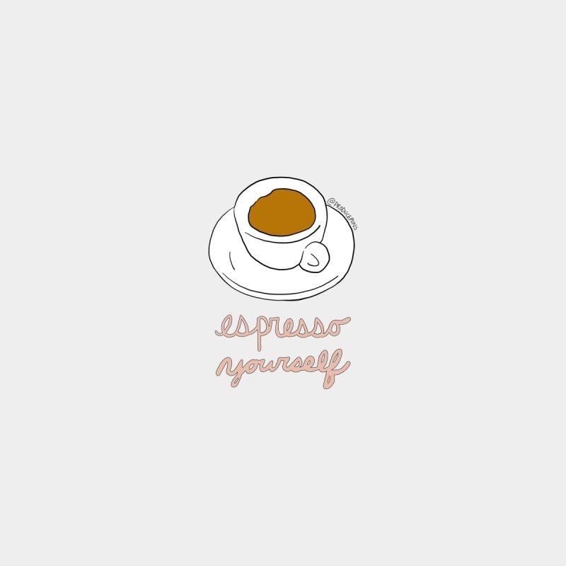 Espresso Yourself Women's V-Neck by Produce Puns