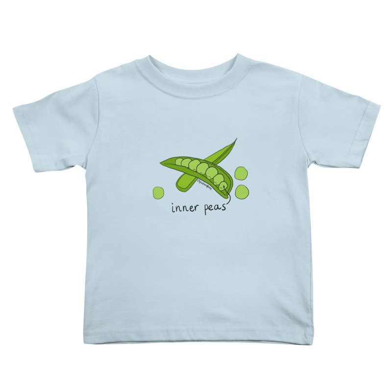 Inner Peas Kids Toddler T-Shirt by Produce Puns