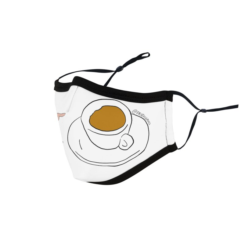 Espresso Yourself Face Mask Accessories Face Mask by Produce Puns