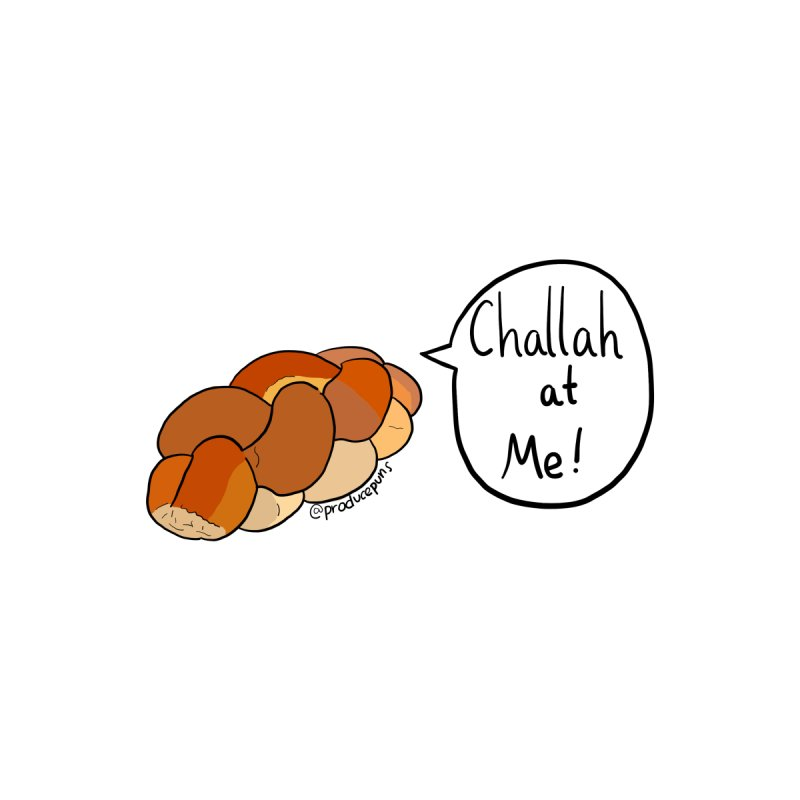 Challah at Me! Accessories Face Mask by Produce Puns