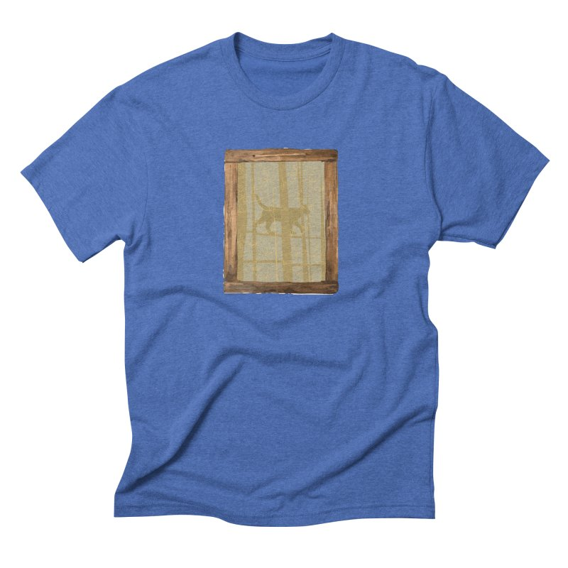 Cat at the Window Men's T-Shirt by Producer original ideas on tees and accesories