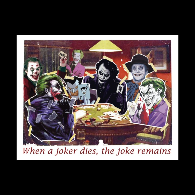 The joke remains Men's T-Shirt by Producer original ideas on tees and accesories