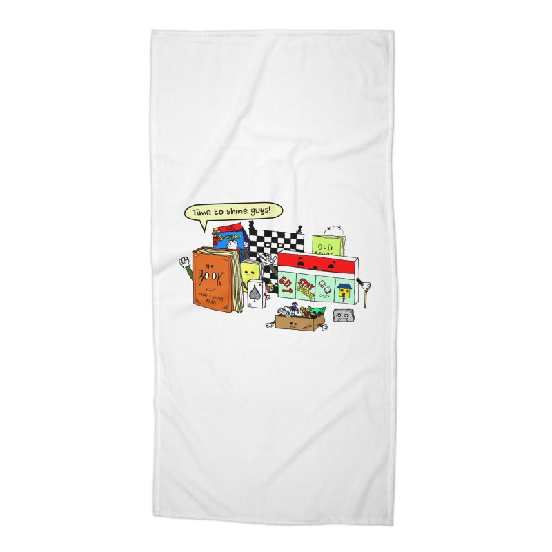 Time to Shine Accessories Beach Towel by Producer original ideas on tees and accesories